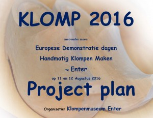 Klomp project plan voorpagina